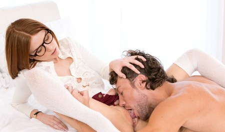 French artist masterfully fuck redhead chick in the ass