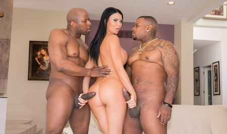 Group sex with blacks tall female with toned Boobs