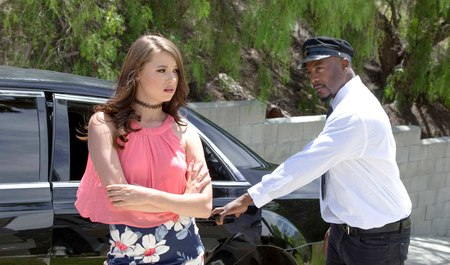 Black girly wishlist chauffeur indulges a young lady