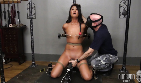Exotic girl suffers humiliation and gets pleasure