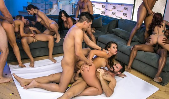 We've got the final Gangbang in the House-2 from Brazzers