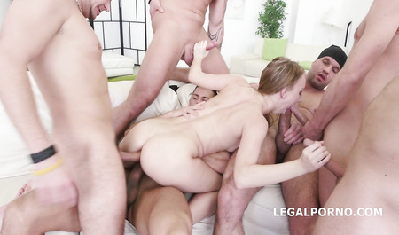 Double penetration men with big cocks with slim cute
