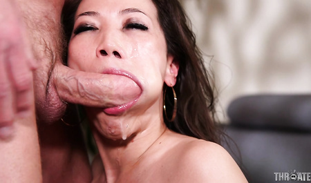Rigidly fucked in the mouth a chink girlfriend