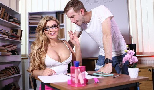 Innovator pedagogy bangs Busty student learning