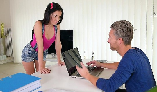 A young trainee was flogged in the office with a full-time programmer