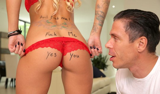 Mick blue bangs beautiful girlfriend the signs in the test mode